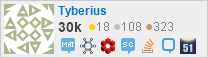 profile for Tyberius on Stack Exchange, a network of free, community-driven Q&A sites
