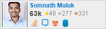 profile for Somnath Muluk on Stack Exchange, a network of free, community-driven Q&A sites