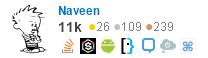 Naveen @ Stack Overflow