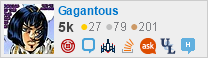 profile for Gagantous on Stack Exchange, a network of free, community-driven Q&A sites