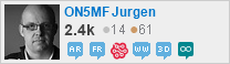 profile for ON5MF Jurgen on Stack Exchange, a network of free, community-driven Q&A sites