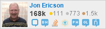 profile for Jon Ericson on Stack Exchange, a network of free, community-driven Q&A sites