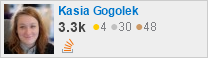 profile for Kasia Gogolek on Stack Exchange, a network of free, community-driven Q&A sites