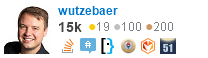 profile for wutzebaer on Stack Exchange, a network of free, community-driven Q&A sites