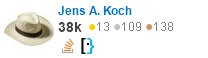 profile for Jens-André Koch on Stack Exchange, a network of free, community-driven Q&A sites