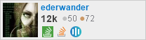 profile for ederwander on Stack Exchange