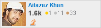 profile for Aitazaz Khan on Stack Exchange, a network of free, community-driven Q&A sites