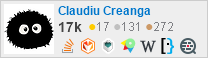 profile for Claudiu Creanga on Stack Exchange, a network of free, community-driven Q&A sites
