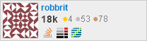 profile for robbrit on Stack Exchange, a network of free, community-driven Q&A sites