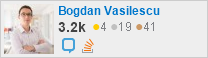 profile for Bogdan Vasilescu on Stack Exchange, a network  of free, community-driven Q&A sites