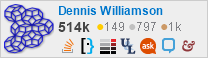 profile for Dennis Williamson on Stack Exchange