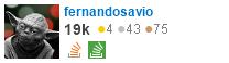 perfil de fernandosavio no Stack Exchange