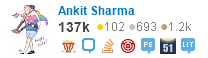 profile for Ankit Sharma on Stack Exchange, a network of free, community-driven Q&A sites
