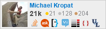 profile for Michael Kropat on Stack Exchange, a network of free, community-driven Q&A sites