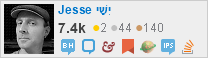 profile for Jesse Steele on Stack Exchange, a network of free, community-driven Q&A sites