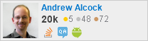 profile for Andrew Alcock on Stack Exchange, a network of free, community-driven Q&A sites