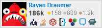 profile for Raven Dreamer on Stack Exchange,a network of free, community-driven Q&A sites