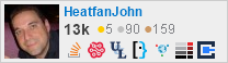 profile for HeatfanJohn on Stack Exchange, a network of free, community-driven Q&A sites