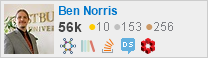 profile for Ben Norris on Stack Exchange, a network of free, community-driven Q&A sites