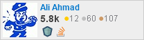 profile for Ali Ahmad on Stack Exchange, a network of free, community-driven Q&A sites