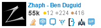 Combined Stack Exchange profile for Zhaph - Ben Duguid