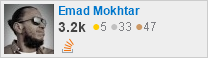 profile for Emad Mokhtar on Stack Exchange, a network of free, community-driven Q&A sites
