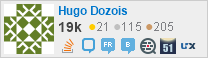 profile for Hugo Dozois on Stack Exchange, a network of free, community-driven Q&A sites