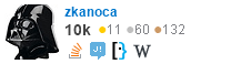 profile for zkanoca on Stack Exchange, a network of free, community-driven Q&A sites