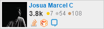profile for Josua Marcel Chrisano on Stack Exchange, a network of free, community-driven Q&A sites