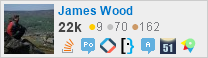 profile for James Wood on Stack Exchange, a network of free, community-driven Q&A sites