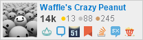 profile for Waffle's Crazy Peanut on Stack Exchange, a network of free, community-driven Q&A sites