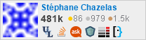 profile for sch on Stack Exchange,a network of free, community-driven Q&A sites