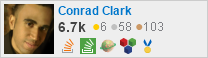 profile for Conrad Clark on Stack Exchange, a network of free, community-driven Q&A sites