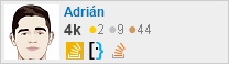 profile for Adrian on Stack Exchange, a network of free, community-driven Q&A sites