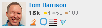 profile for Tom Harrison Jr on Stack Exchange, a network of free, community-driven Q&A sites