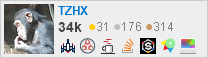 profile for TZHX on Stack Exchange, a network of free, community-driven Q&A sites