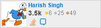 profile for Harish Singh on Stack Exchange, a network of free, community-driven Q&A sites