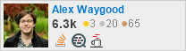 profile for Alex Waygood on Stack Exchange, a network of free, community-driven Q&A sites