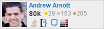 profile for Andrew Arnott on Stack Exchange, a network of free, community-driven Q&A sites