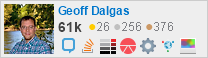 profile for Geoff Dalgas on Stack Exchange,a network of free, community-driven Q&A sites