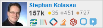 profile for Stephan Kolassa on Stack Exchange, a network of free, community-driven Q&A sites