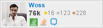 perfil de Anderson Carlos Woss no Stack Exchange, uma rede gratuita de sites de perguntas e respostas orientadas à comunidade
