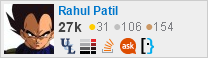 profile for Rahul Patil on Stack Exchange, a network of free, community-driven Q&A sites