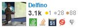 profile de Carlos Delfino no Stack Exchange, uma rede livre, um site compostos por comunidades de perguntas e respostas (Q&A)