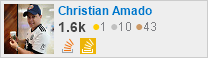 profile for Christian Amado on Stack Exchange, a network of free, community-driven Q&A sites