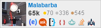 profile for Malabarba on Stack Exchange
