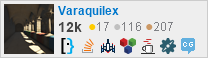 profile for Varaquilex on Stack Exchange, a network of free, community-driven Q&A sites