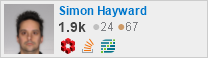 profile for Simon Hayward on Stack Exchange, a network of free, community-driven Q&A sites