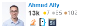 profile for Ahmad Alfy on Stack Exchange, a network of free, community-driven Q&A sites