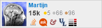 profile for Martijn on Stack Exchange, a network of free, community-driven Q&A sites